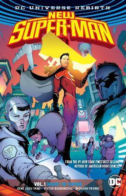 New SuperMan TP Vol 1 Made In China (Rebirth) book