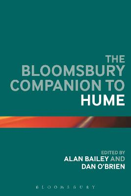 The Bloomsbury Companion to Hume by Alan Bailey
