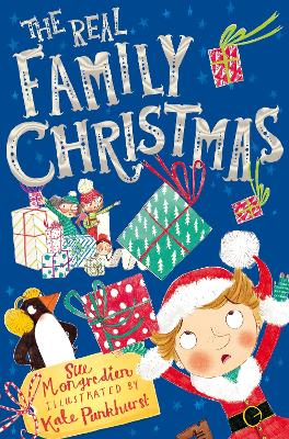 The Real Family Christmas: Three Stories in One by Sue Mongredien
