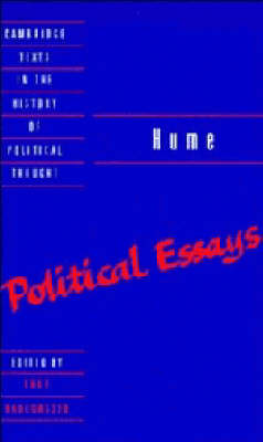 Hume: Political Essays by Knud Haakonssen