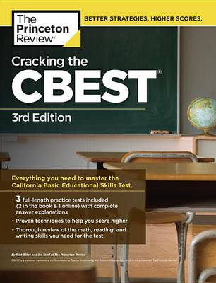 Cracking The Cbest, 3Rd Edition by Princeton Review