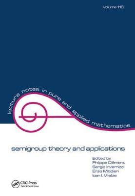 semigroup theory and applications by Clement