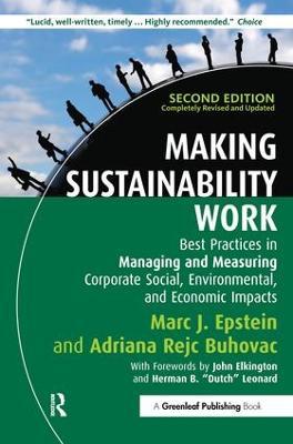 Making Sustainability Work by Marc J. Epstein