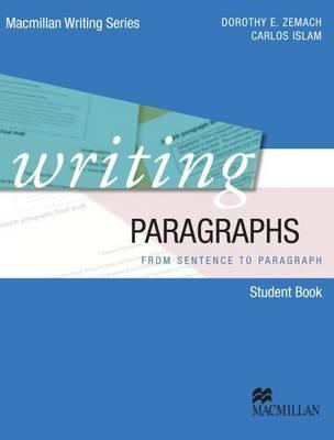 Writing Paragraphs book