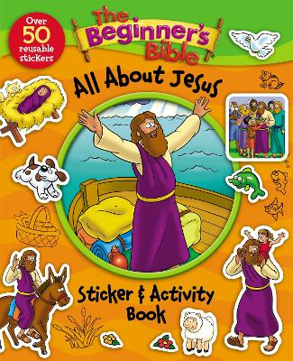 The Beginner's Bible All About Jesus Sticker and Activity Book by Kelly Pulley
