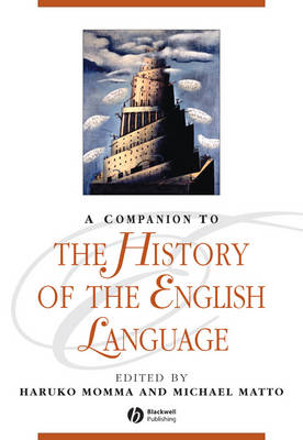 Companion to the History of the English Language book
