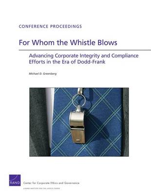 For Whom the Whistle Blows by Michael D. Greenberg