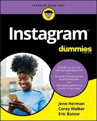 Instagram For Dummies by Jennifer Herman