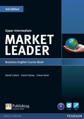 Market Leader 3rd edition Upper Intermediate Course Book for pack by David Cotton