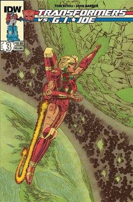 Transformers Vs G.I. Joe Volume 3 book