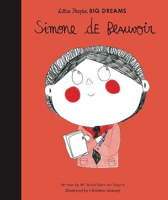 Simone de Beauvoir by Maria Isabel Sanchez Vegara