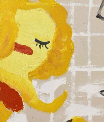 Rose Wylie: Lolita's House by Rose Wylie