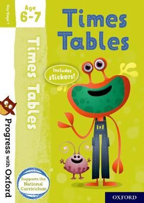 Progress with Oxford: Times Tables Age 6-7 book