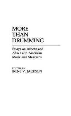 More Than Drumming book
