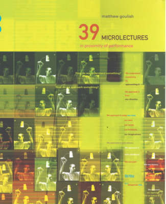 39 Microlectures by Matthew Goulish