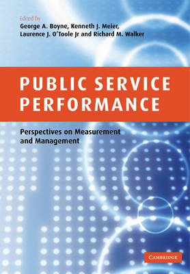Public Service Performance by G. A. Boyne