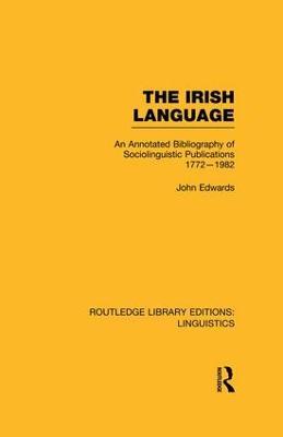 The Irish Language by John Edwards