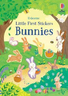 Little First Stickers Bunnies book