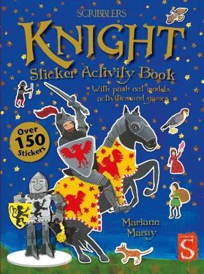 Knight Sticker Activity Book by Mariann Maray