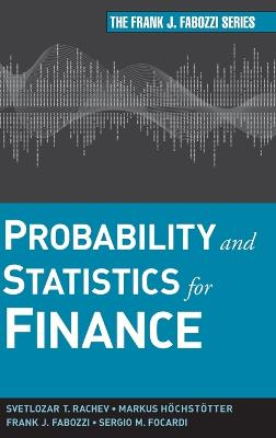 Probability and Statistics for Finance by Svetlozar T. Rachev