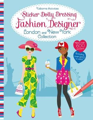 Sticker Dolly Dressing Fashion Designer London and New York Collection book
