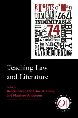 Teaching Law and Literature by Austin Sarat