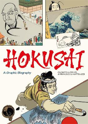 Hokusai: A Graphic Biography book