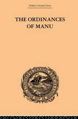 Ordinances of Manu book