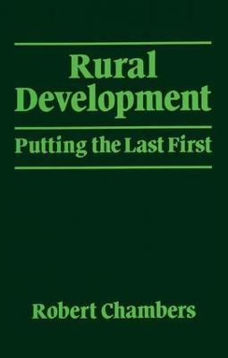 Rural Development by Robert Chambers