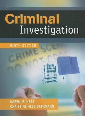 Criminal Investigation by Christine Hess Orthmann