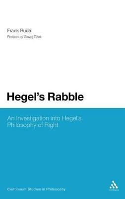 Hegel's Rabble by Frank Ruda