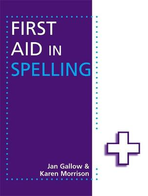 First Aid in Spelling book