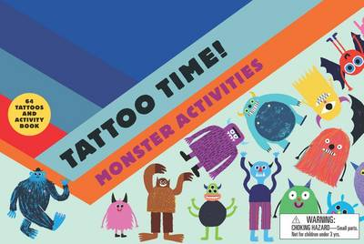 Tattoo Time! Monster Activities book