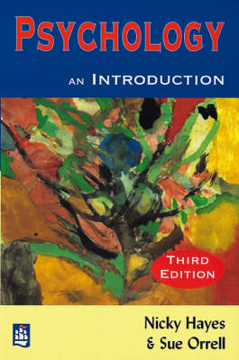 Psychology: An Introduction 3rd Edition by Nicky Hayes