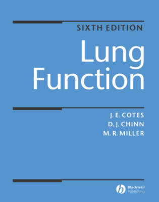 Lung Function by John E. Cotes