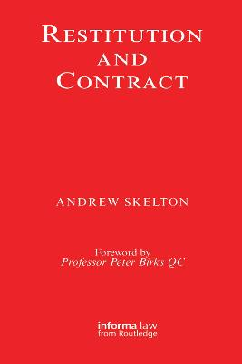 Restitution and Contract book