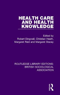 Health Care and Health Knowledge book