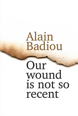 Our Wound Is Not So Recent - Thinking the Paris   Killings of 13 November book