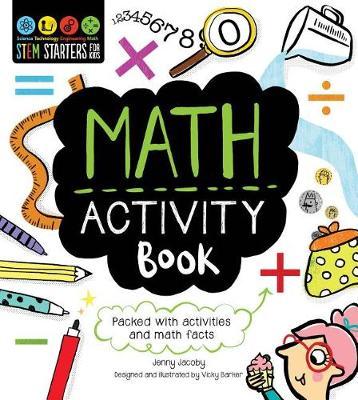 Stem Starters for Kids Math Activity Book by Jenny Jacoby