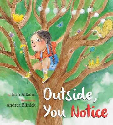 Outside, You Notice by Erin Alladin