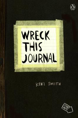 Wreck This Journal (Black) Expanded Ed. book
