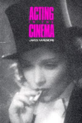 Acting in the Cinema book