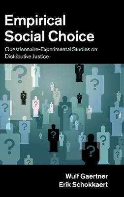 Empirical Social Choice by Wulf Gaertner