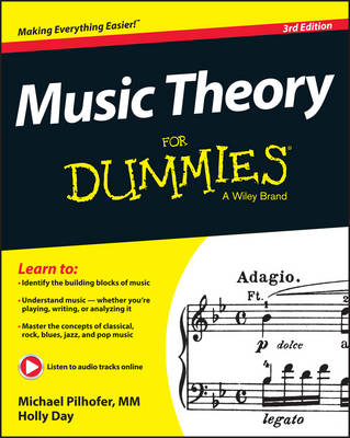 Music Theory For Dummies by Michael Pilhofer