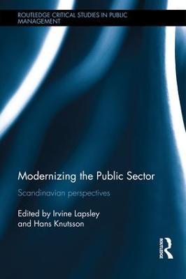 Modernizing the Public Sector by Irvine Lapsley