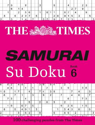 The Times Samurai Su Doku 6 by The Times Mind Games