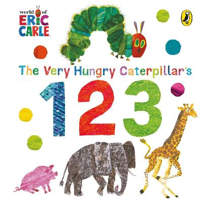 The Very Hungry Caterpillar's 123 by Eric Carle