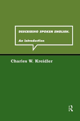 Describing Spoken English book