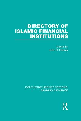 Directory of Islamic Financial Institutions book