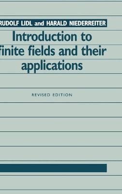 Introduction to Finite Fields and their Applications by Rudolf Lidl